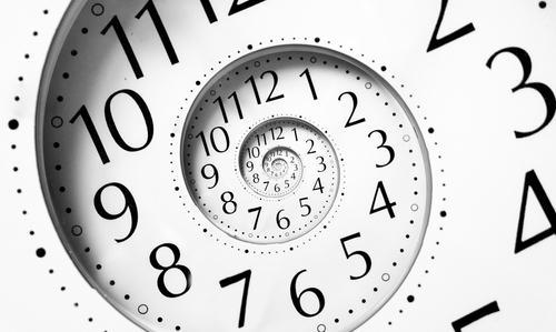 Drück auf die Zeit